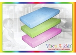 Memory Foam Mattress - Visco 4 Kids Twin Size Blue Mattress - SilverRest - SRMVKBMEM-30