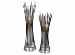 Metal Candleholder Duo (Set of 2) - IMAX - 10657-2
