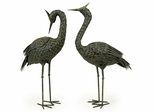 Metal Coastal Birds (Set of 2) - IMAX - 5706-2