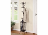 Metal Coat Rack with Umbrella Stand - 900811