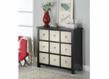 Metal Front 3-Drawer Accent Cabinet - 950117