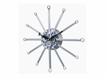 Metal Wrench Wall Clock - 90812WRENCH-REMAIL