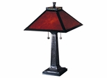 Mica Camelot Table Lamp - Dale Tiffany - TT100174