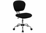 Mid-Back Black Mesh Task Chair - H-2376-F-BK-GG