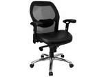 Mid Back Contemporary Mesh Ventilated Chair - LF-W42-L-GG