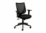 Mid-Back Managerial Chair - Black - BSXVL561MM10