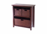 Milan 4Pc Cabinet / Shelf - Winsome Trading - 94238