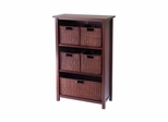 Milan 6Pc Cabinet Set - Winsome Trading - 94313