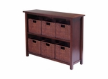 Milan 7Pc Storage Shelf - Winsome Trading - 94510