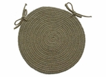 "Millennium Willow 15"" Braided Chair Pad - Rhody Rug - M-41415CPWL"