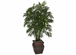 Mini Bamboo Palm with Decorative Vase - Nearly Natural - 6717