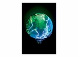 Mini Earth Electra Blue Green - Lumisource