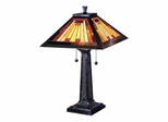 Mission Camelot Table Lamp - Dale Tiffany
