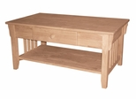 Mission Coffee Table - OT-61C