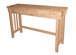 Mission Console Table - OT-61S