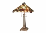 Mission Rose Table Lamp - Dale Tiffany