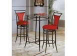Mix 'N' Match Bistro Table and Stools Set - Hillsdale Furniture