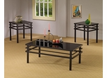 Modern Coffee Table and End Table Set - 3PC - 701524