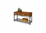 Modern Craftsman Sofa Table with Two Drawers - Home Styles - HS-5050-22