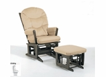 Modern Glider and Ottoman Combo - Dutailier - C00-64A