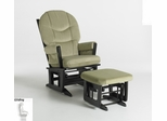 Modern Glider and Ottoman Combo - Dutailier - C00-64C