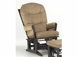 Modern Multiposition and Recliner Glider - Dutailier - D20-84A