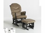 Modern Multiposition Glider and Ottoman Combo - Dutailier - C01-84C