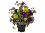 Morning Glory and Hydrangea Arrangement - Nearly Natural - 1259