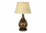 Mosaic Glass Dome Table Lamp - Dale Tiffany