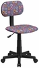 Multi-Colored Pattern Printed Computer Chair - BT-FL-GG