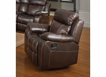 Myleene Glider Recliner in Brown - 603023