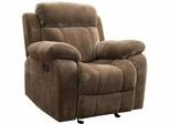 Myleene Glider Recliner in Brown - 603033