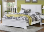Naples Queen Size Bed in White - Home Styles - 5530-500