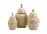 Nasturtium Jars (Set of 3) - IMAX - 81020-3