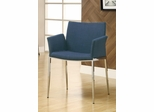 Navy Upholstered Dining Chair - Set of 2 - 120720