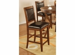 "Nelms 24"" Bar Stool (Set of 2) in Brown Walnut - Coaster - 102179-SET"