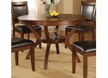 Nelms Dining Table in Brown Walnut - Coaster - 102171