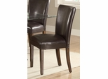 Nessa Brown Parsons Chair - Set of 2 - 103053