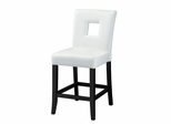 Newbridge Counter Stool White Cushion - Set of 2 - 103619WHT