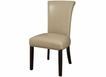Newbridge Upholstered Taupe Side Chair  - Set of 2 - 102883