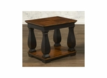 Newbury Rectangular Cocktail Table with Shelf Antique Black / Cherry - Largo - LARGO-ST-T557-100