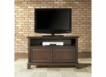 "Newport 42"" TV Stand in Vintage Mahogany Finish - Crosley Furniture - KF10003CMA"