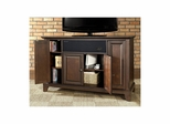 "Newport 48"" AroundSound TV Stand in Vintage Mahogany - CROSLEY-KF1002CASMA"