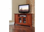 "Newport 48"" Corner TV Stand in Classic Cherry - CROSLEY-KF10006CCH"
