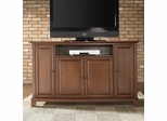 "Newport 60"" TV Stand in Classic Cherry Finish - Crosley Furniture - KF10001CCH"
