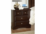 Night Stand - Harbor Night Stand in Rich Cappuccino - Coaster - 201382