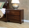 Night Stand - Hillary Night Stand in Warm Brown - Coaster - 200642