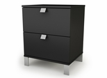 Night Stand in Solid Black - Spark - South Shore Furniture - 3270060