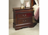Night Stand - Louis Philippe Night Stand in Cherry - Coaster - 200432