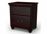 Night Table in Dark Mahogany - Noble - South Shore Furniture - 3516060